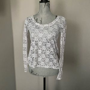 Coolwear lace top